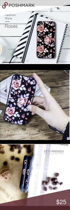 Flower Design for iPhone 7s plus! Colorful Flower Hard Plastic Cover Case For iphone 7 7plus Pink Red Roses Ultra Thin. FunctionDirt-resistant,Anti-knock Exotic,Patterned design  TypeCase Size4.7/5.5 Compatible BrandApple iPhones Function1light weight,good looking, hand feeling StyleFashion/Flowers/Women Function2Dirt Proof/Anti-knock Shock-Proof/Anti-Scratch /Anti-Skid Feature 1Pink Rose Feature 2Soft edge+hard back ❤️FREE PHONE STRAPS❤️ Accessories Phone Cases