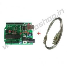 Roboduino ATmega328 + Cable Product Code: RS-1018 Availability: In Stock Price: Rs. 590.00  http://www.roboshop.in/development-boards/roboduino-atmega328-plus-cable