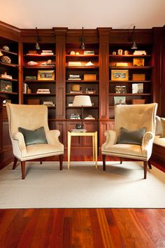 Traditional Home Office Built In Bookcase Design, Pictures, Remodel, Decor and Ideas - page 3