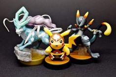 Custom Pokken Tournament amiibo by GandaKris