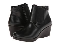 Versatile black bootie! Tights/jeans/dress slacks- this could do it all!