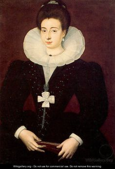 Portrait of a Lady 1580 - Francois Quesnel the Elder - put a bow on it