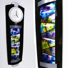 Modern Abstract Metal Clock Contemporary Wall Art Sculpture Painting Home Decor | eBay