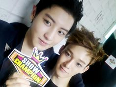 Chanyeol and Chen / EXO