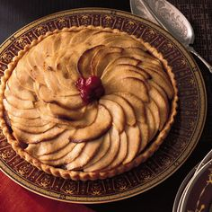 Apple Tart with Bananas and Cranberries  | Food & Wine