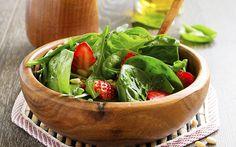 Spinatsalat mit Früchten