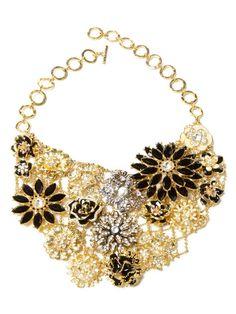 Greenport Crystal Bib Necklace by Amrita Singh on Gilt.com