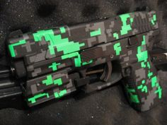 Glow-in-Dark (Not)Camo? The lab guys insist it will confuse hostile alien invaders. - http://www.RGrips.com