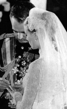 wedding of grace kelly & prince rainier
