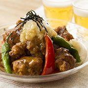 鶏もも肉の唐揚げ みぞれあん仕立てのレシピ・作り方 | 暮らし上手