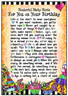 For You on Your Birthday - 8x10 Gifty Art