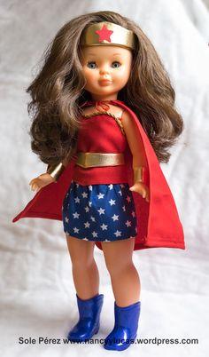 Barbie, Wonder Woman, Celebs, Celebrities, Baby Dolls, Doll Clothes, Harajuku, Costumes, Retro