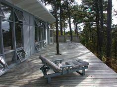 midcentury deck