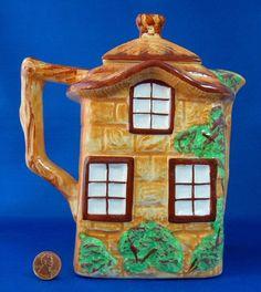 Vintage English Cottage Ware Teapot Hot by AntiquesAndTeacups