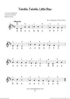 Very Easy Collection Part I Sheet Music For Violin Solo Pdf Sheet Music Violin Sheet Sheet Music With Letters