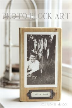 This would be a cool way to display all dad's old camping photos...maybe doing it on a large scale double sided??