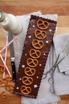 Brezel Schokoladen Tarte