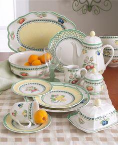 Villeroy & Boch Dinnerware, French Garden Dinnerware