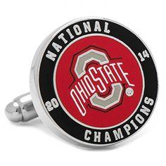 2014 Ohio State Buckeyes National Champions Cufflinks