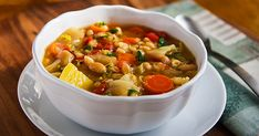 Irish White Bean and Cabbage Stew  IrishWhiteBean 570x299 Irish White Bean and Cabbage Stew    I created this recipe from basic ingredients (cabbage, potatoes, carrots) and seasonings (parsley, thyme, rosemary) that can be found in the simple, hearty dishes of Irish home cooking. With barley and white beans, too, it's a healthy, filling meal all on its own.