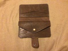 Купить Портмоне - кошелек из кожи, кошелек ручной работы, кошелек женский, wallet, leather