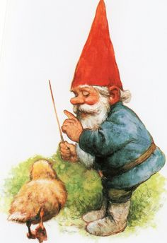 Gnome David by Rien Poortvliet