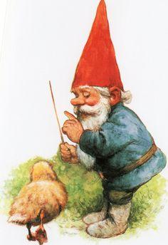 Gnome David by Rien Poortvliet