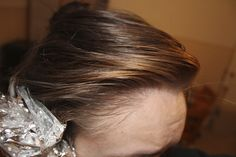 How To Lighten Hair With Hydrogen Peroxide & Baking Soda