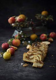 Los cerezos en flor: Babka de manzanas al caramelo salado Brunch, Sweets, Recipes, Flower, Custard, Candy, Breakfast, Food, Good Coffee