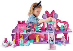 Fisher-Price - Disney Minnie Mouse - Fabulous Shopping Mall * Details can be found by clicking on the image. Toddler Gifts, Toddler Toys, Baby Toys, Gifts For Kids, Kids Toys, 80s Kids, Minnie Mouse Toys, Disney Babys, Fisher Price Toys