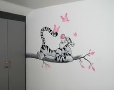 lizart mural pooh - Lilly is Love Baby Bedroom, Kids Bedroom, Mad About The House, Wall Murals, Wall Art, School Murals, Baby Co, Cole And Son, Tatty Teddy