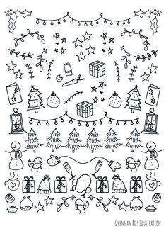 christmas+doodles.jpg 2,480×3,508 pixels