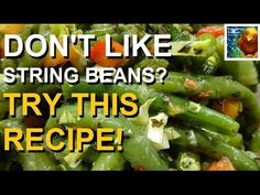 String Bean Salad | Think You Dont Like Green Beans? Try This! | Colorful Canary