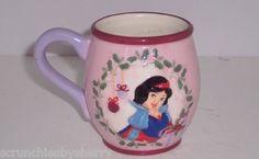 Disney Princess Snow White Pink Purple Coffee Mug Cup