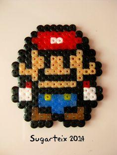 Mario Bros como broche o llavero. Si te gusta puedes adquirirlo en nuestra tienda on-line: http://www.sugarshop.eu