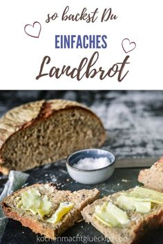 Great recipe for a simple country bread ALWAYS succeed! - Great recipe for a simple country bread ALWAYS succeed! Healthy Eating Tips, Easy Healthy Recipes, Quick Easy Meals, Great Recipes, Vegetarian Recipes, Egg Recipes, Crockpot Recipes, Scones, Country Bread