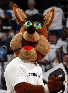 San Antonio Spurs Coyote