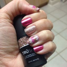 Jamberry Nails Playground & Wild Child with Party Dress TruShine Gel
