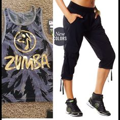 Women's Zumba outfit new with tags Dance Zumba in this cute comfy outfit,black…