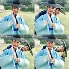 Park Bo Gum and Kim Yoo Jung Share Photo from The Set of Korean Drama Love in the Moonlight Kim Yu-jeong, Kim You Jung, Love In The Moonlight Kdrama, Kim Yoo Jung Park Bo Gum, Korean Traditional Clothes, We Heart It, Korean Drama Stars, Park Go Bum, Moonlight Drawn By Clouds