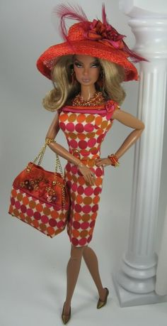 Barbie Shopping in Downtown