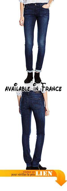 B00ZIWPZAA : Hilfiger Denim - Jeans - Slim Femme - Bleu - 34W/34L.