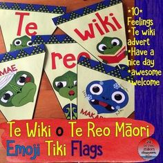 I just love flags, and with these guys. Celebrate Te Wiki o Te Reo Māori with Emoji Tiki! Maori Art, Classroom Environment, Child Development, Medium Art, Art Forms, Lesson Plans, Emoji, Messages, Classroom Resources
