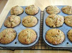 Recipe for tender and scrumptious Banana Nut Oatmeal Muffins. These muffins definitely rank very near to the top on my list of all time favourites