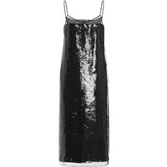 Rochas Sequin Embellished Slip Dress (142.385 RUB) ❤ liked on Polyvore featuring dresses, rochas, sleeveless dress, slip dress, sheath dress, midi cocktail dress and sleeveless midi dress