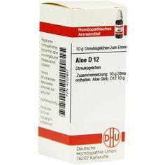 ALOE D 12 Globuli:   Packungsinhalt: 10 g Globuli PZN: 04202657 Hersteller: DHU-Arzneimittel GmbH & Co. KG Preis: 5,50 EUR inkl. 19 %…