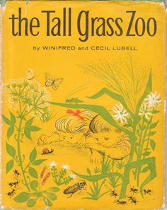 The Tall Grass Zoo 1960 Winifred and Cecil Lubell Vintage Insects Nature