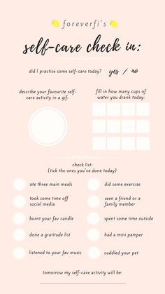 self care check in Instagram Story Questions, Instagram Story Ideas, Bujo, Instagram Story Template, Instagram Templates, Self Care Activities, Self Care Routine, Get To Know Me, Planner