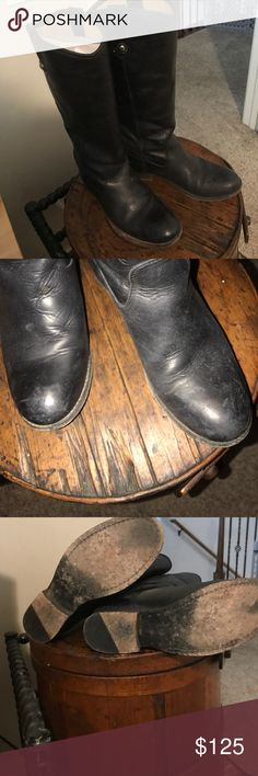 Frye Melissa Boot. Worn and well loved, want to try something new! Frye Shoes Over the Knee Boots