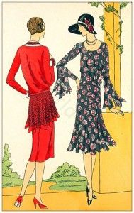 French vintage haute couture fashion by Drecoll-Beer Art deco costume ideas Les cr ations parisiennes Bohemian flapper style 1920s Outfits, Vintage Outfits, Vintage Fashion, French Fashion, Victorian Fashion, Martial Et Armand, Flapper Style, Flapper Fashion, 1920s Flapper